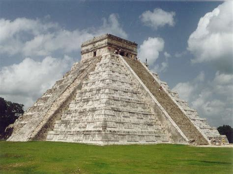 imagenes de monumentos mayas chichen itza mexico