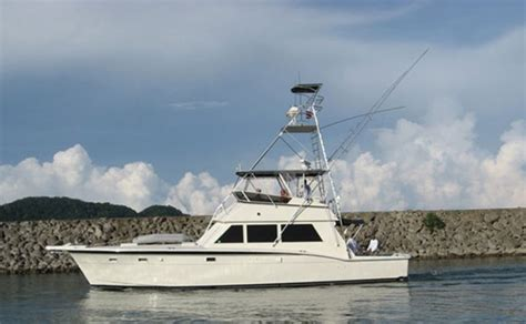 52 ft boat 52 ft hatteras fishing boat bachelor party bay costa rica