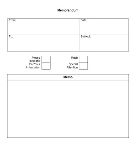memo form template blank memo template 14 free word pdf documents