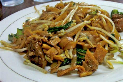 membuat mie tiau goreng resep mie tiaw goreng spesial kuliner kalimantan barat