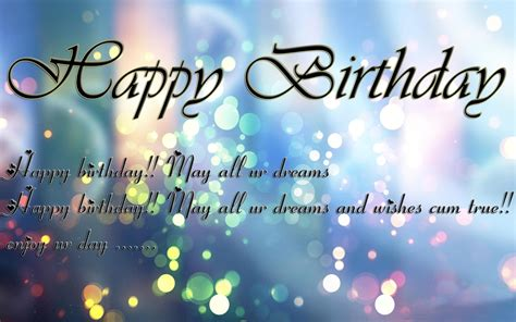 In Happy Birthday Wishes 38 Happy Birthday Wishes Fotolip Com Rich Image And