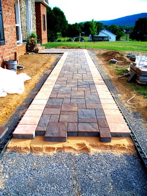 What Gravel To Use For Patio Base by Patios Walkways And Steps Va Quality Concrete Masonry