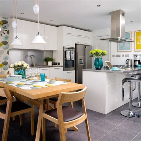 Kitchen Diner Flooring Ideas Granite Floor Tiles Kitchen Flooring Ideas 10 Of The Best Housetohome Co Uk