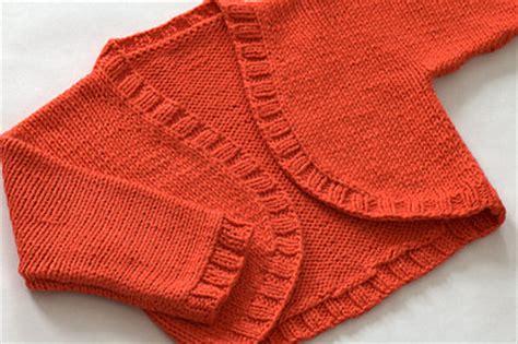 baby shrug knitting pattern free kathryn archive a shrug