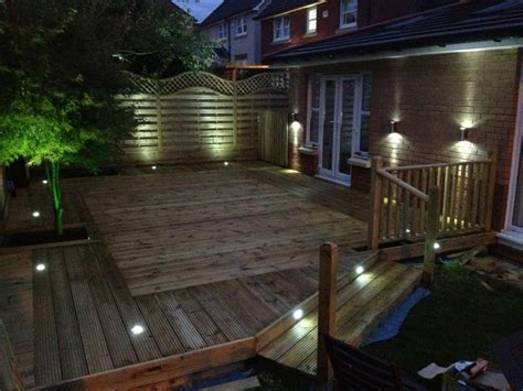 Deck Lighting Ideas by Solar Patio Lights An Inexpensive Way To Brighten Up