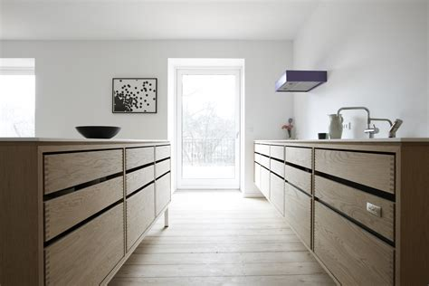 danish design kitchen architect designed kitchen in oak wood by nordic hands