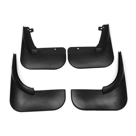 4pcs car front rear mud flap mudguards splash guards for
