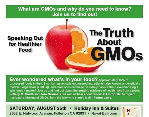 the health risks of genetically modified gmo foods activists to speak on health risks of gmo food ca prop 37 your righ