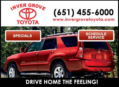 Inver Grove Toyota Service Inver Grove Toyota Toyota Service Center Dealership