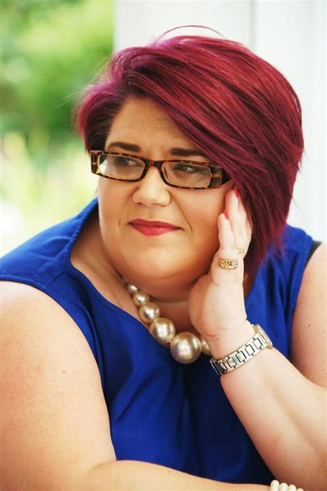 plus size models with short hair local plus size model to shave head for mind in