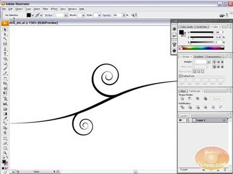 tutorial swirl illustrator vector swirls swooshes and florals illustrator tutorial