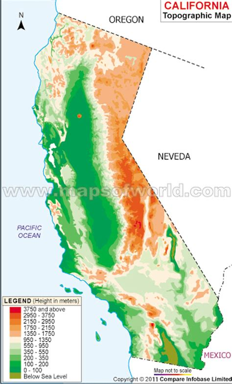 topographic maps usa california topographic maps my