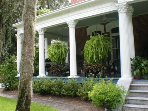 Front porch with hanging ferns everywhere picture of brunswick manor brunswick tripadvisor