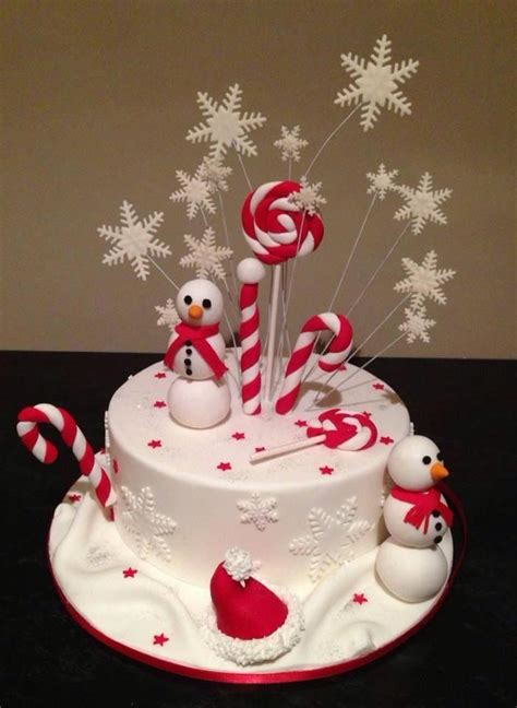 1000 ideas about christmas cake designs on pinterest