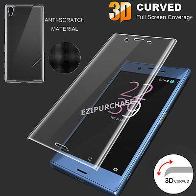 My User Tempered Glass Xperia Zr Clear screen protectors 3d curved tempered glass screen protector with edge for sony