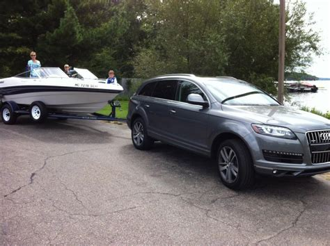 Audi Sq5 Towing by Q7 Towing A Boat Audiworld Forums
