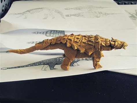 Origami Ankylosaurus - 473 best images about origami on origami