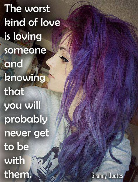 color purple quotes you and me will never part the worst of is loving someone and knowing that