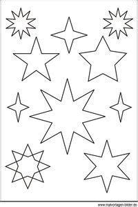 Ideen Für Schuhaufbewahrung 718 by Sternen Vorlage Biggi Weihnachten Basteln