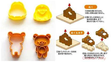 Bento Hello Bread Cutter Berkualitas cetakan cookies bento rilakkuma bread cookie cutter