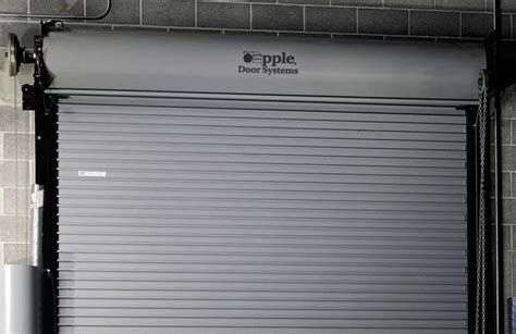 Coiling Overhead Door Commercial Coiling Doors Sales Service And Installation Contact Apple Door For All Of Your