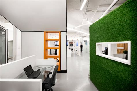 Grass Interior Design by A Pr Agency With A Creative Office Space Design Milk