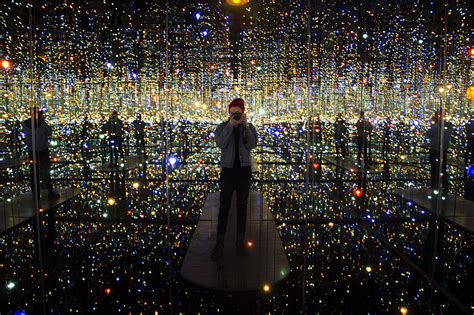 Infinity Mirrored Room infinity mirrored room by yayoi kusama gives visitors a