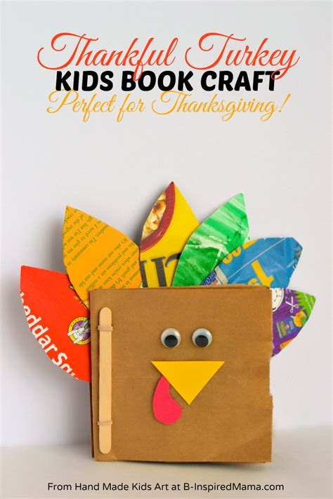 make in a day crafts for books thanksgiving crafts for a thankful turkey book b