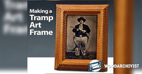 making tramp art picture frames woodarchivist