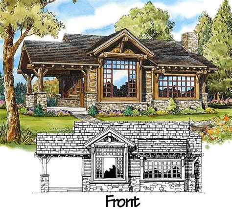Cabin Plans And Designs Mountain Cabin Plans