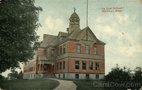 Whitman Post Office by The Dyer School Whitman Ma
