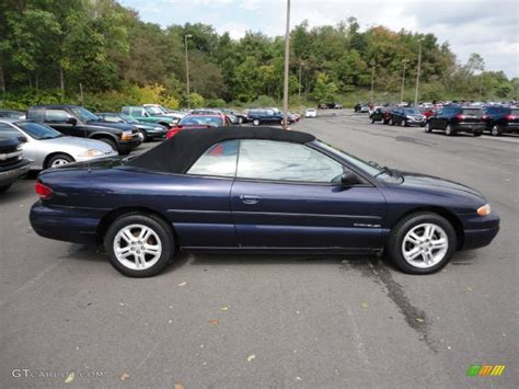 1997 Chrysler Sebring by Amethyst Pearl 1997 Chrysler Sebring Jxi Convertible