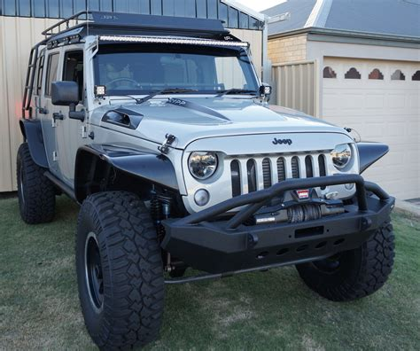 Aftermarket Jeep Parts Australia 2015 Jk Wrangler 4 Door Unlimited Contour Roof Rack System