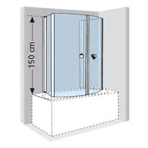 Folding Over Bath Shower Screens the novellini aurora 4 folding over bath shower screen is available in