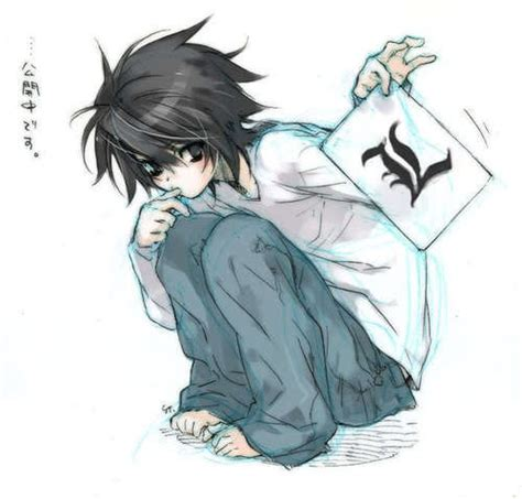 l death note haircut death note images l lawliet wallpaper and background