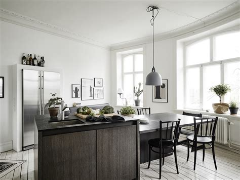 small apartment with a big kitchen island coco lapine