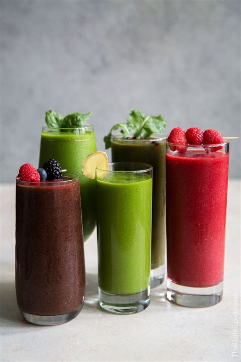 1 fruit smoothie a day 5 fruit and veggie smoothies the epicurean