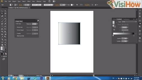 illustrator tutorial magic wand tool use the magic wand tool in adobe illustrator cs6 visihow