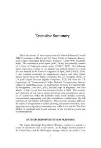 army exsum template review of the u s army corps of engineers restructured