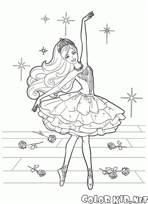 coloring ballerina modest dress