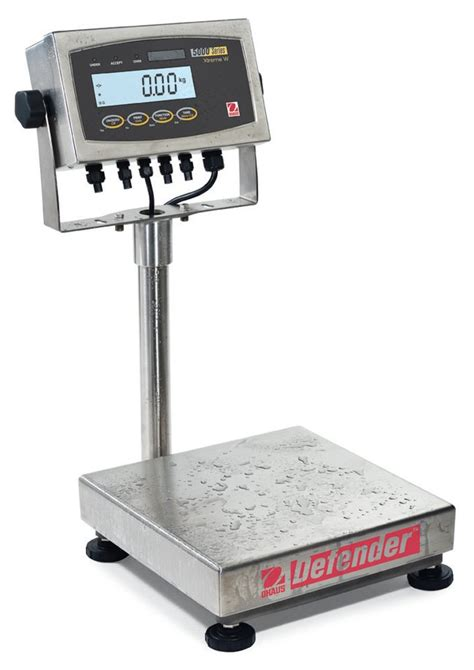 bench scales versitale weighing 713 ohaus defender 5000 washdown and bench scales 500 lb