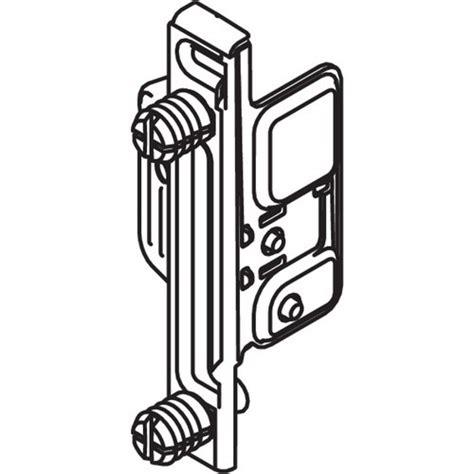 Blum Zsf 130e Metabox Left Hand Clip Front Fixing Bracket