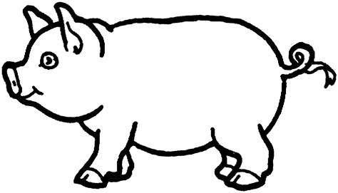 coloring page pigs free printable pig coloring pages for kids animal place