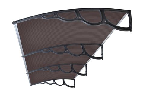 Patio Awning Brackets by The Hamilton Outdoor Window Awning Cover 2000 X 1500mm Tinted