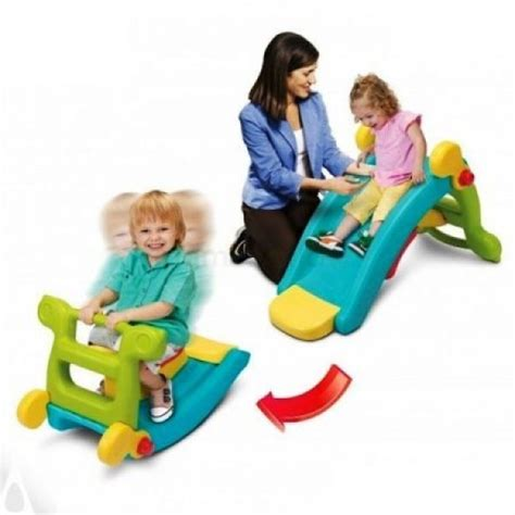 Grow N Up 2 In 1 Slide To Rocker tobogan pentru copii grown up maxi slide 2 in 1 cu