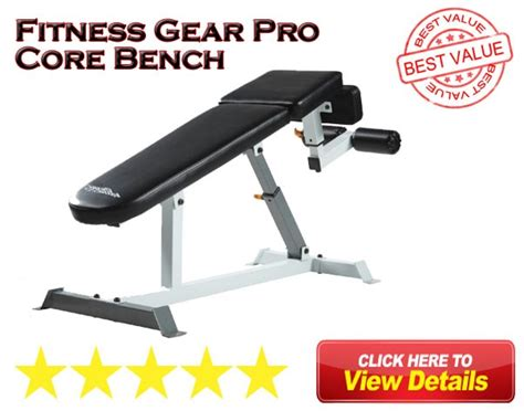fitness gear ab bench fitness gear utility bench review 2018 fitness gear pro