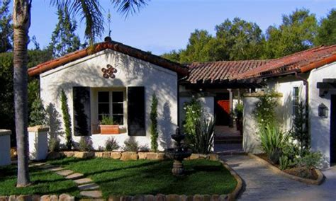 Santa Barbara Style Home Plans | santa barbara spanish style small homes santa barbara