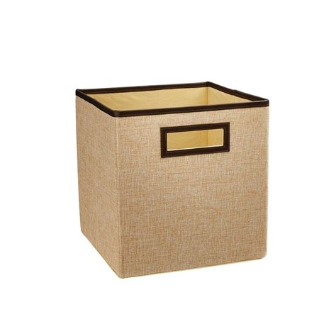 Closetmaid Drawers Home Depot by Closetmaid 10 5 In X 11 In X 10 5 In Creme Brulee Linen