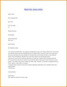 Certification Letter For Maternity Leave fotos sample paternity leave letter