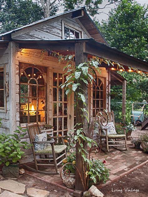 diy she shed jenny s garden shed revealed living vintage
